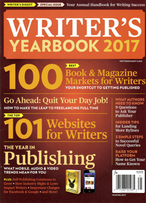 A must-read resource: Writer's Yearbook 2017 | The Writer's