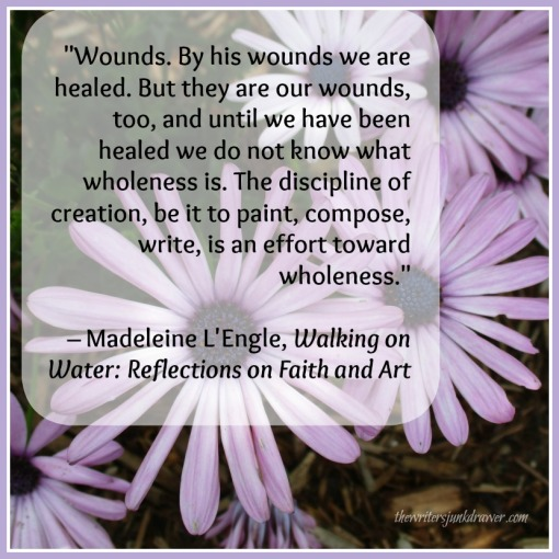 L'Engle-wounds quote