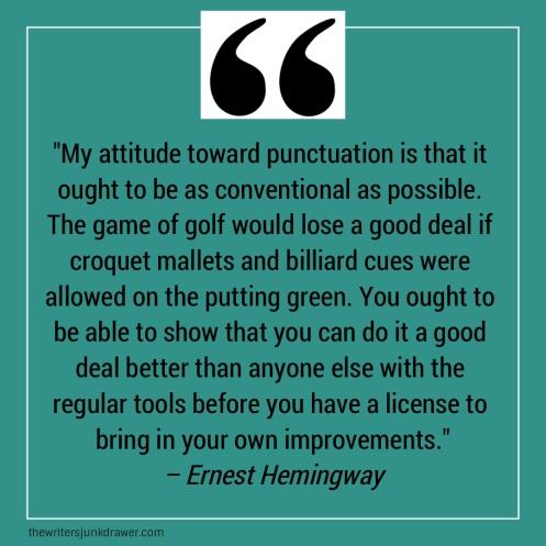 hemingway-punctuation